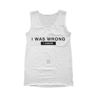 ARIZONA I Was Wrong Tank