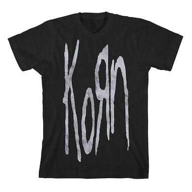 Korn Distressed Logo T-Shirt