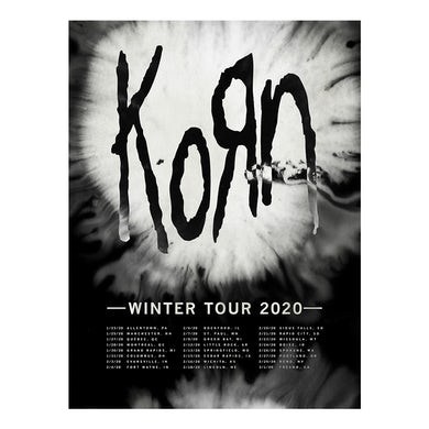 KoRn Stain Wash Tour Poster