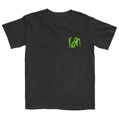 KoRn Neon Pocket Logo T-Shirt