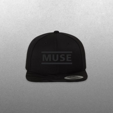 Muse Black Clean Logo Hat