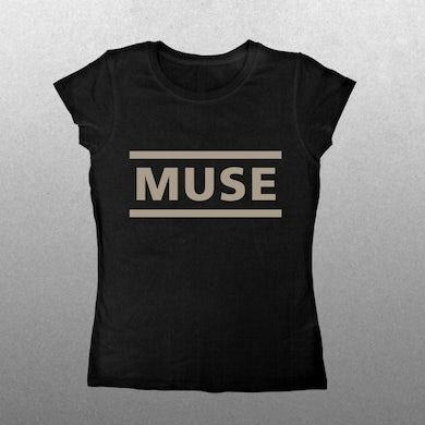 Muse Ladies Clean Logo T-Shirt