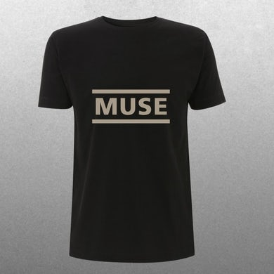 Muse Mens Clean Logo T-Shirt
