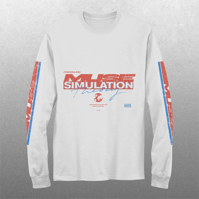 Muse Pressure Motocross Long Sleeve T-shirt