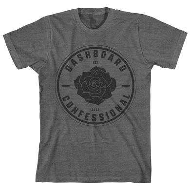 Dashboard Confessional Rose Crest T-Shirt