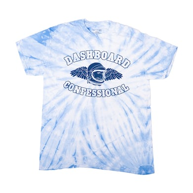 Dashboard Confessional Tie Dye Astronaut Wings T-Shirt