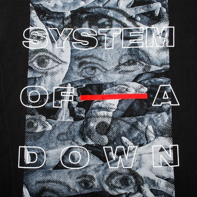System Of A Down Eye Collage Long Sleeve T-Shirt