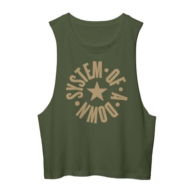 System Of A Down Full Circle Logo Muscle Tank