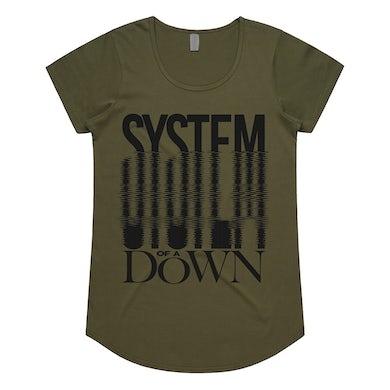 System Of A Down System Ripple Logo T-Shirt