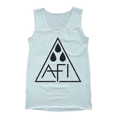 AFI Inside Triangle Drops Tank (Ice Blue)