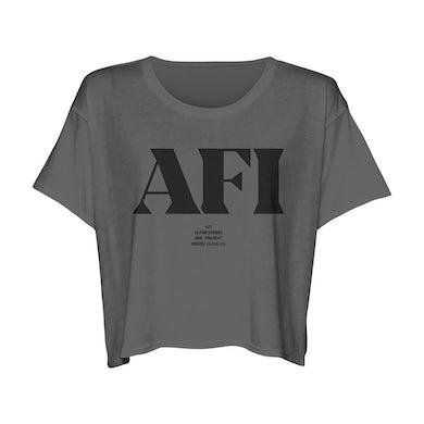 AFI Definition Ladies Crop T-Shirt