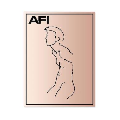 AFI Rose Gold Foil Lithograph