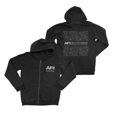 AFI Cross Bodies Zip Hoodie