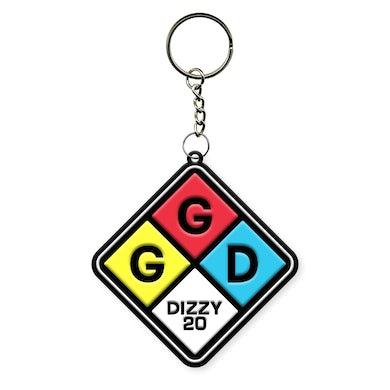 Goo Goo Dolls Dizzy Squares Keychain