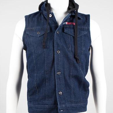 The Devil Wears Prada Triangle Logo Denim Vest