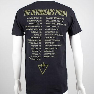 The Devil Wears Prada Dead Throne Skull T-Shirt