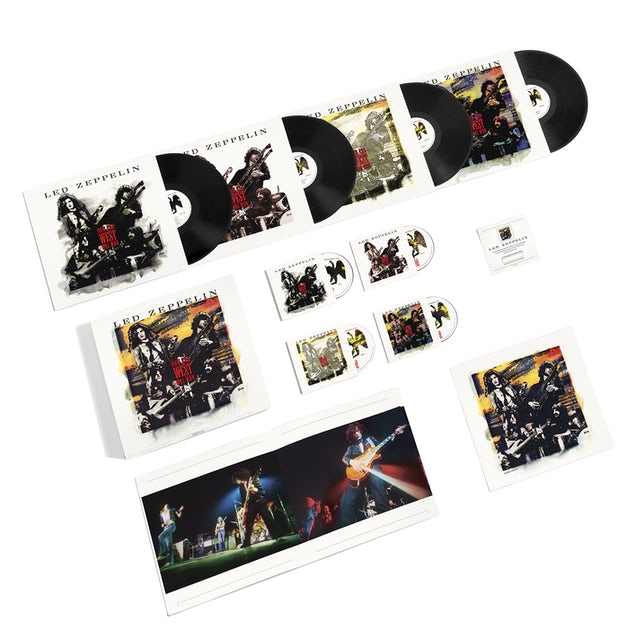 Led Zeppelin How The West Was Won (Remastered) (3CD/4LP/1DVD)