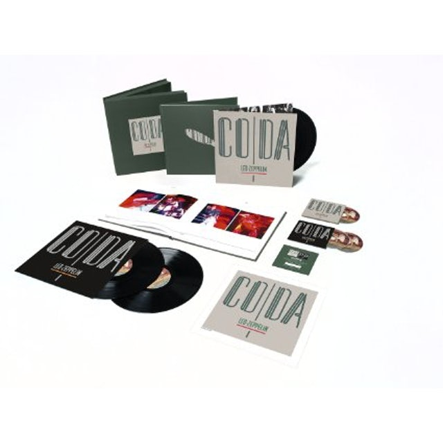 Led Zeppelin Coda (Super Deluxe Edition Box) (CD& LP) (Vinyl)