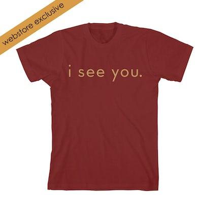 Idina Menzel I See You Maroon T-shirt