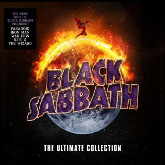 Black Sabbath The Ultimate Collection (4LP 180 Gram Vinyl)