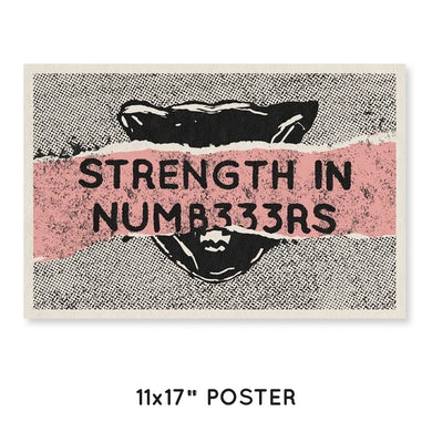"Fever 333 Strength In Num333rs Poster (11x17"")"