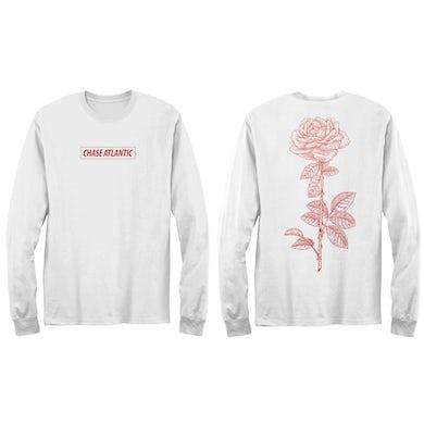 Chase Atlantic Jumbo Rose Long Sleeve T-Shirt