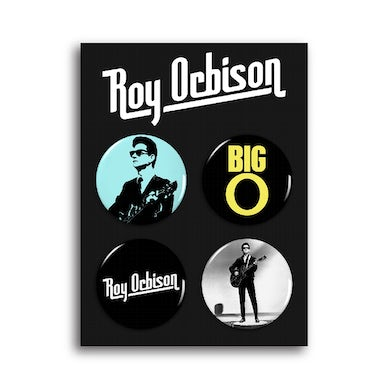 Roy Orbison Button Pack