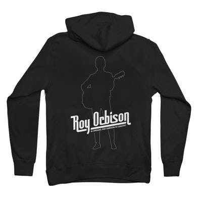 Roy Orbison Shape Of Roy Hooded Zip Sweatshirt