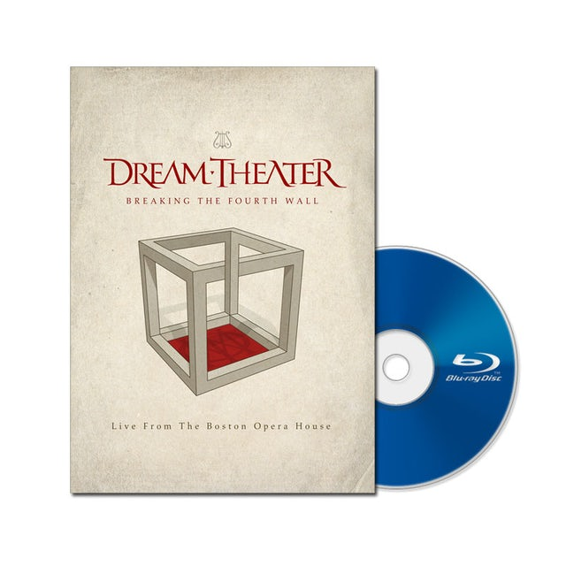 Dream Theater Breaking the Fourth Wall Blu-Ray