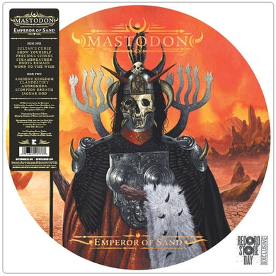 "Mastodon Emperor of Sand 12"" Picture Disc"