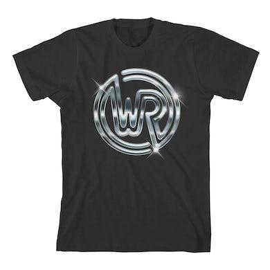 White Reaper Chrome Logo T-shirt