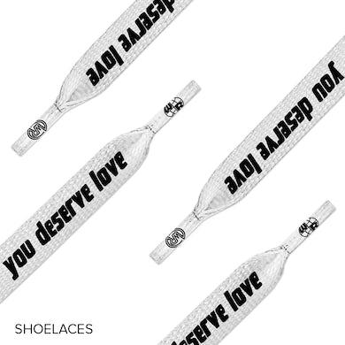 White Reaper Deserve Love Shoelaces