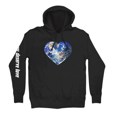 You Deserve Love Cover Pullover Hoodie