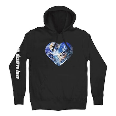 White Reaper You Deserve Love Cover Pullover Hoodie