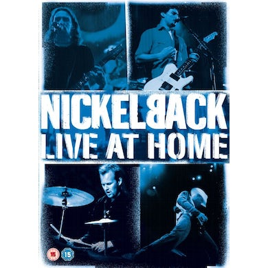Nickelback Live At Home (DVD)