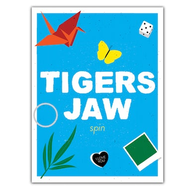Tigers Jaw Autographed spin Poster