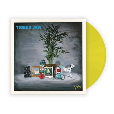 Tigers Jaw spin (Yellow Tour Vinyl)