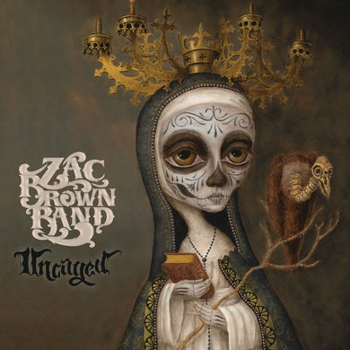 Zac Brown Band Uncaged CD