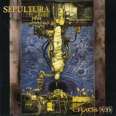SEPULTURA - Chaos A.D. CD