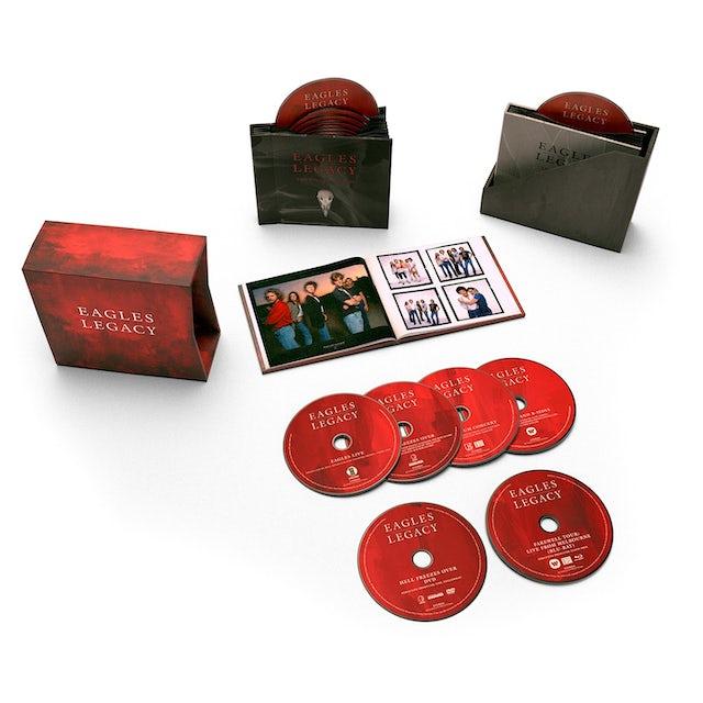 Eagles Legacy CD/DVD/Blu-ray