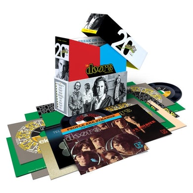 "The Doors The Singles (20 7"" Vinyl Single Box Set)"