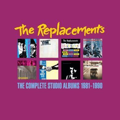 The Replacements The Complete Studio Albums 1981-1990 8xCD