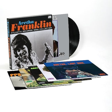 Aretha Franklin Atlantic Records 1960s Collection (6LP) (Vinyl)
