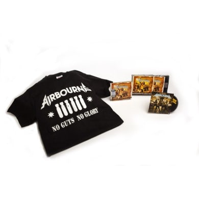 Airbourne No Guts. No Glory (Overdrive Edition CD/DVD/Shirt)