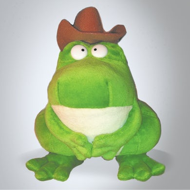Sandra Boynton Zeke, the Cowboy Frog (Plush Toy)