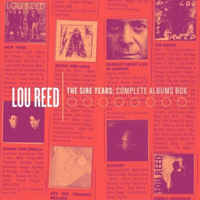 Lou Reed The Sire Years: Complete Albums Box (10CD)