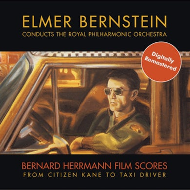 Bernard Herrmann Film Scores Conducted By Elmer Bernstein/Royal Philharmonic Orchestra CD