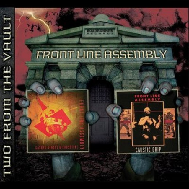 Front Line Assembly Caustic Grip/Gashed Senses & Crossfire CD