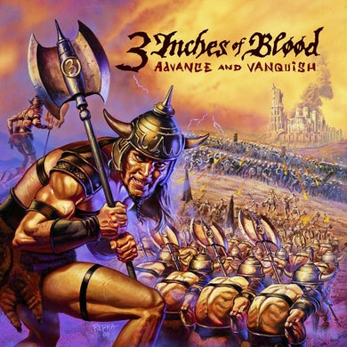 3 Inches Of Blood Advance And Vanquish CD