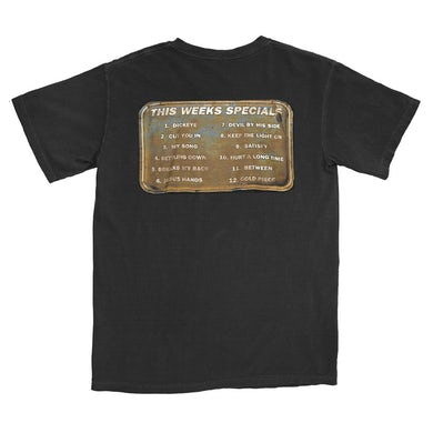 Jerry Cantrell Boggy Sign T-Shirt